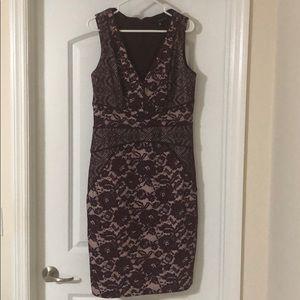 Sangria dress. Size 10 Wine color